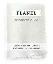 Flanel hoeslaken