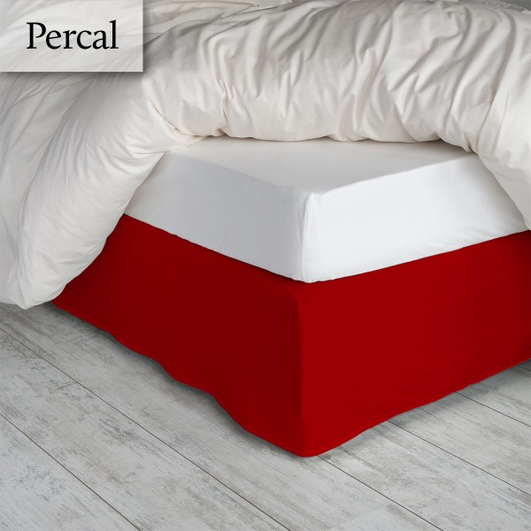 Bedrok Percal Terracotta