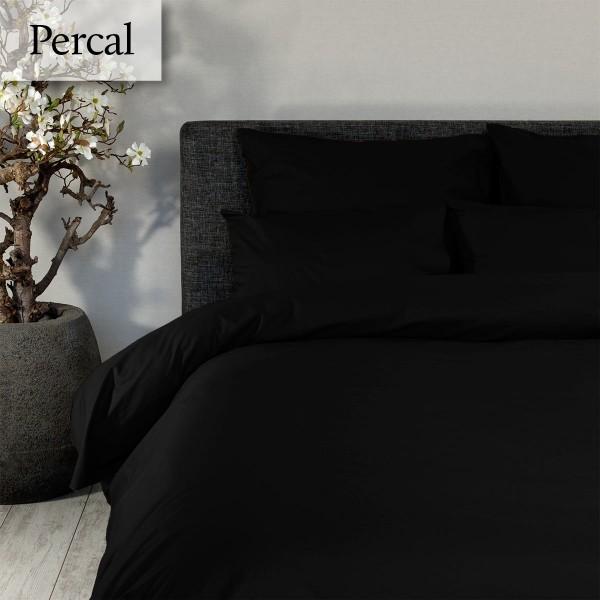 Dommelin Dekbedovertrek Deluxe Percal Zwart