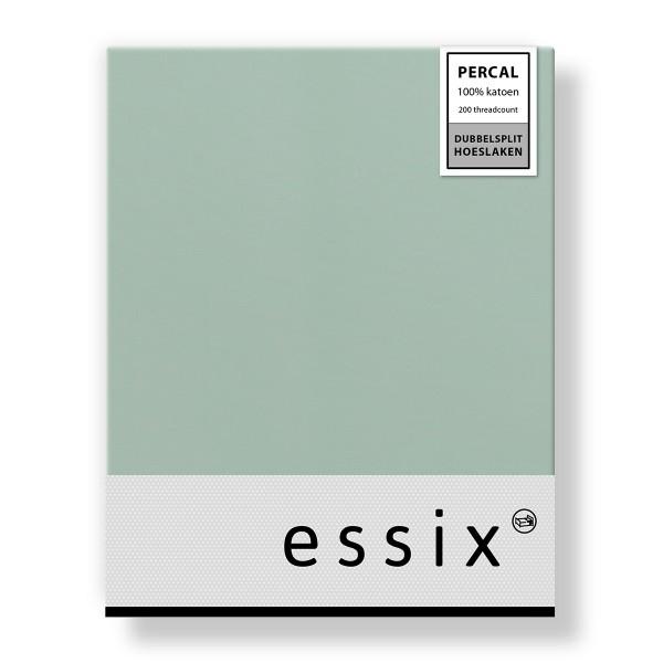 Essix Dubbelsplit Hoeslaken Percal Archipel
