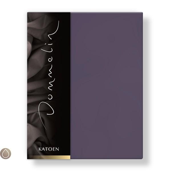 Dommelin Hoeslaken Katoen Violet 180 x 200 cm