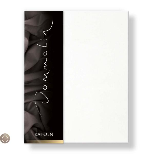 Dommelin Hoeslaken Katoen Wit 80 x 210 cm