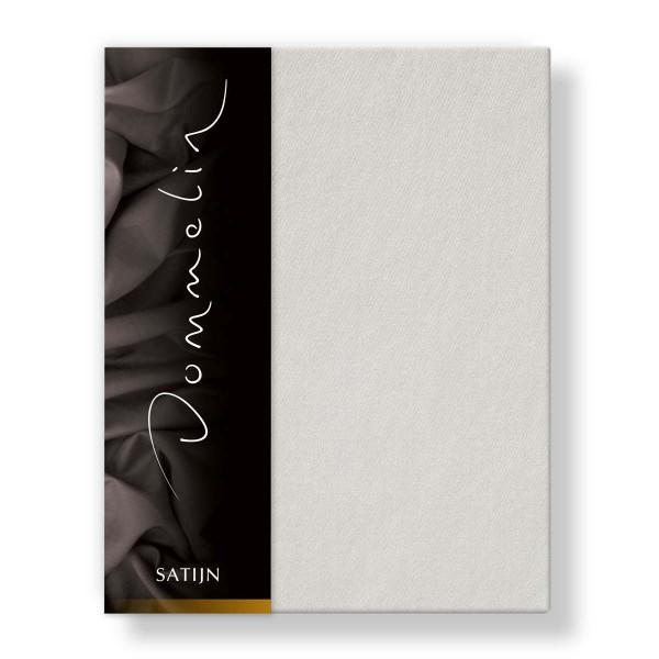 Dommelin Hoeslaken Deluxe Satijn Lichtgrijs 200 x 220 cm