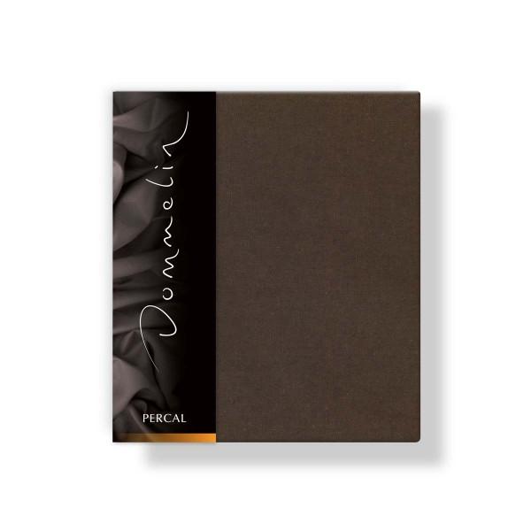 Dommelin Kussensloop Deluxe Percal Choco