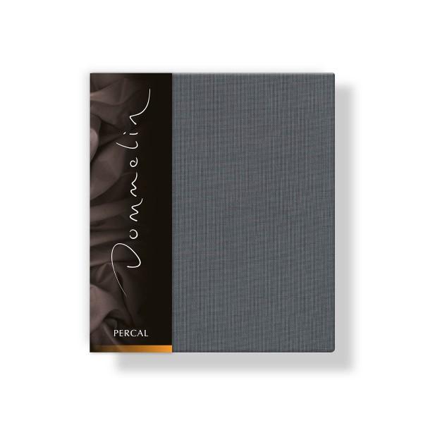 Dommelin Kussensloop Deluxe Percal Olifantgrijs