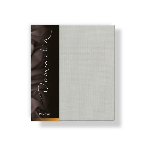 Dommelin Kussensloop Deluxe Percal Zilver 40 x 60 cm