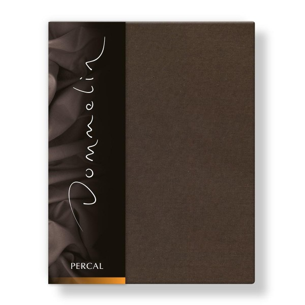 Dommelin Laken Deluxe Percal Choco