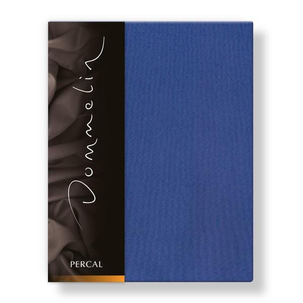 Dommelin Laken Deluxe Percal Jeansblauw