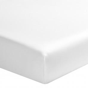 Alexandre Turpault Hoeslaken Satijn Wit 160 x 200 cm