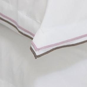 Designers Guild Dekbedovertrek Astor Nutmeg & Dusty Pink