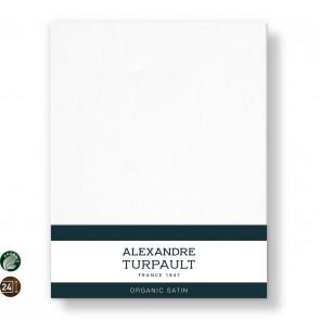Alexandre Turpault Hoeslaken Teophile Bio Satijn Wit