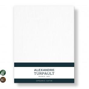 Alexandre Turpault Hoeslaken Hoge Hoek Teophile Bio Satijn Wit