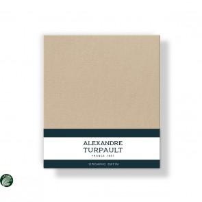 Alexandre Turpault Kussensloop Teophile Bio Satijn Dessert 60 x 70 cm