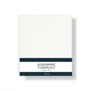 Alexandre Turpault Kussensloop 4 Volant Satijn Hermelijn 60 x 70 cm