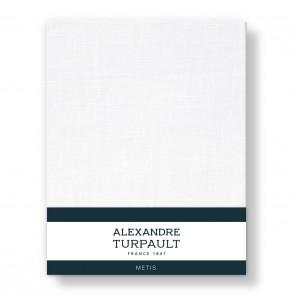 Alexandre Turpault Hoeslaken Ontario Halflinnen Wit