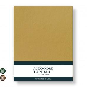 Alexandre Turpault Hoeslaken Hoge Hoek Teophile Bio Satijn Goud 180 x 200 cm
