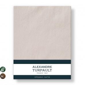 Alexandre Turpault Hoeslaken Hoge Hoek Teophile Bio Satijn Rosé 180 x 200 cm H40