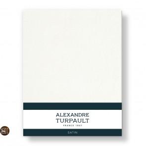 Alexandre Turpault Hoeslaken Hoge Hoek Satijn Hermelijn 200 x 200 cm
