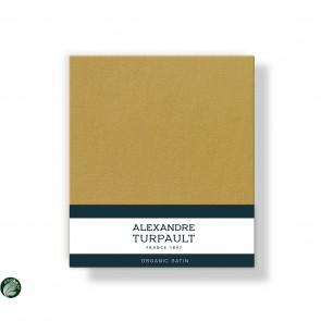 Alexandre Turpault Kussensloop Teophile Bio Satijn Goud 60 x 70 cm