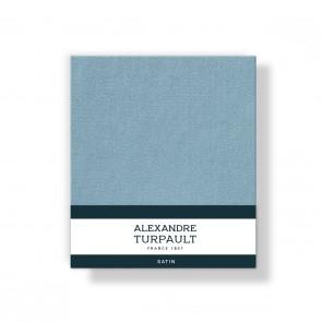 Alexandre Turpault Kussensloop 4 Volant Satijn Baltique 60 x 70 cm