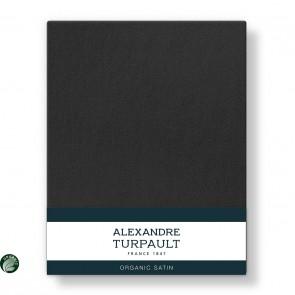 Alexandre Turpault Laken Teophile Bio Satijn Off Black