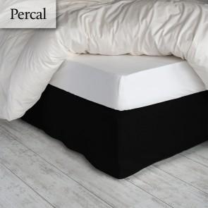 Bedrok Percal Zwart