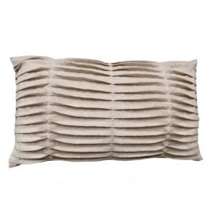 Fissaggio Sierkussenhoes Waves Linen Dune 30 x 50 cm