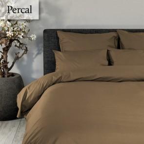 Dommelin Dekbedovertrek Deluxe Percal Cappucino lits-jumeaux