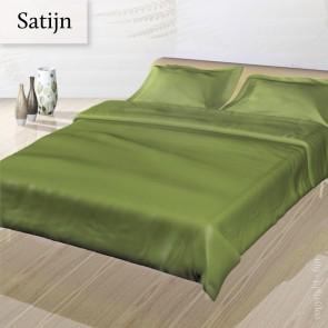 Dommelin Dekbedovertrek Deluxe Satijn Groen tweepersoons