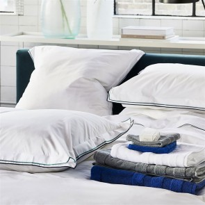 Designers Guild Dekbedovertrek Astor Midnight & Aqua