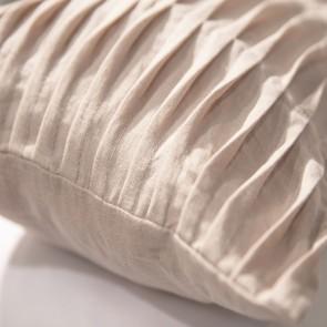 Fissaggio Sierkussenhoes Waves Linen Blossom 30 x 50 cm