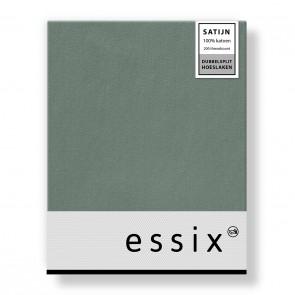 Essix Dubbelsplit Hoeslaken Satijn Jade