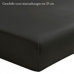Essix Hoeslaken Percal Anthracite