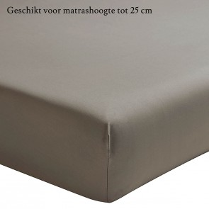 Essix Hoeslaken Percal Taupe