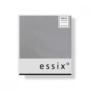 Essix Kussensloop 4 volant Percal Argent