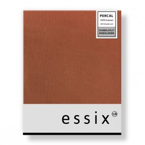 Essix Dubbelsplit Hoeslaken Percal Ecureuil