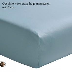 Essix Hoeslaken Hoge Hoek Percal Bleu Glacier