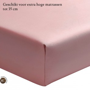 Essix Hoeslaken Hoge Hoek Percal Poudre