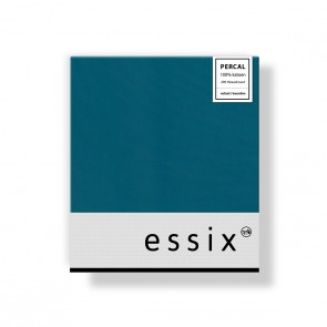 Essix Kussensloop 4 volant Percal Emeraude
