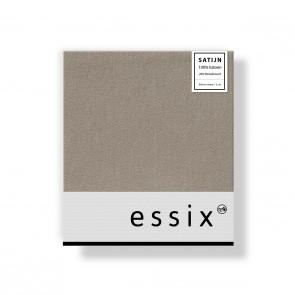Essix Kussensloop 4 volant Satijn Cendre