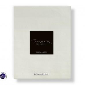 Dommelin Hoeslaken Extra Hoge Hoek Percal 400TC Ecru 105 x 210 cm