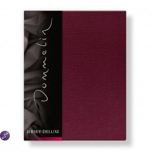 Dommelin Hoeslaken Jersey Deluxe Bordeaux