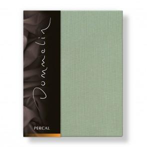 Dommelin Hoeslaken Deluxe Percal Spargroen 100 x 200 cm