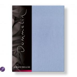 Dommelin Hoeslaken Jersey Deluxe Bleu