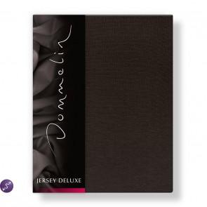 Dommelin Hoeslaken Jersey Deluxe Chocolade