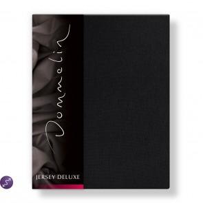 Dommelin Hoeslaken Jersey Deluxe Zwart
