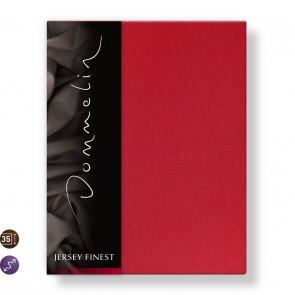 Dommelin Hoeslaken Jersey Finest Rood