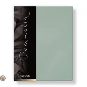 Dommelin Hoeslaken Katoen Mint 140 x 200 cm