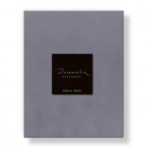Dommelin Hoeslaken Deluxe Percal 400TC Middengrijs