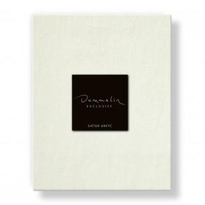 Dommelin Hoeslaken Satijn 600TC Ecru 180 x 220 cm